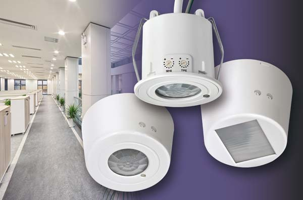 new range of PIR Occupancy Switches with Daylight Linked Dimming and Corridor Function